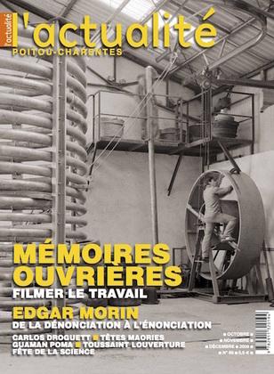 L'Actualité Poitou-Charentes, numéro 86, octobre, novembre, décembre 2009