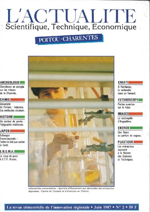 L'Actualité scientifique, technique, économique Poitou-Charentes n° 2