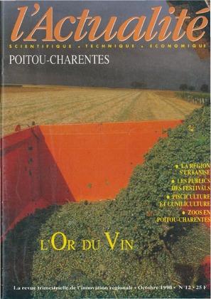 L'Actualité scientifique, technique, économique Poitou-Charentes n° 12