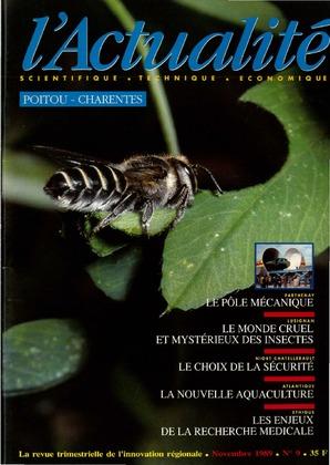 L'Actualité scientifique, technique, économique Poitou-Charentes n° 9