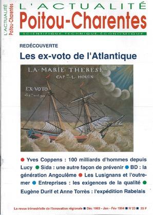 L'Actualité scientifique, technique, économique Poitou-Charentes n° 23